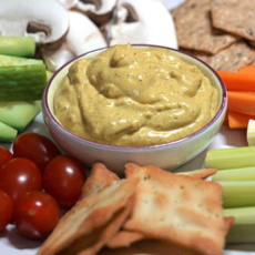 Yellow Curry Lentil Dip